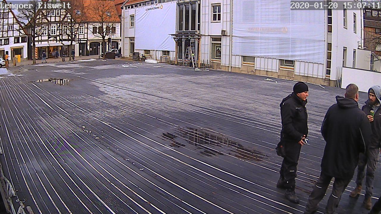 Webcam der Lemgoer Eiswelt - Aktiv ab 13.11.2020